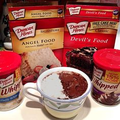 Microwavable Individual Cakes Unused Mix In Any Tupperware Type Container