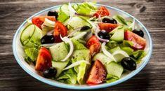Hefðbundið grískt salat