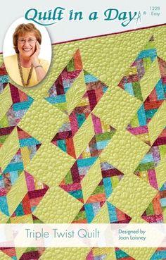 Triple Twist Quilt: Eleanor Burns Signature Pattern