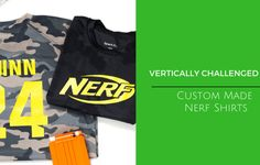 Made for our Nerf Birthday War, Custom Made Nerf Shirts for Kids by vcmblog, 503made, Wandering Monsters, SewDangKewl,