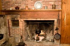 colonial beehive fireplace | Information About Colonial Baking