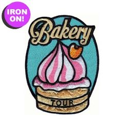 Bakery Tour Fun Patch. As low as $.49. Check out PatchFun.com for all of our Girl Scout Fun Patches.