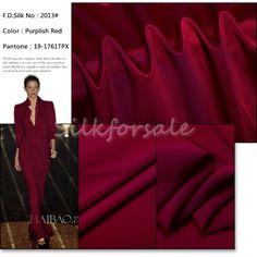 http://www.silkfabricwholesale.com/12mm-silk-crepe-de-chine-fabric-purplish-red.html     F.D. silk most professional 12mm silk crepe de chine fabric-purplish red supplier.