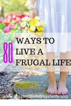 Ways to save money, how to live a frugal life, how to save money. 80 tips and tricks to save money and live a frugal life. Here are some of the best frugal living tips to help you on your journey to save money. Little savings add up in the long run. Frugal Living Tips, Living On A Budget, Frugal Tips, Simple Living, Living Cheaply, Frugal Recipes, Family Budget, Frugal Meals, Ways To Save Money