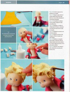 1 million+ Stunning Free Images to Use Anywhere Polymer Clay Recipe, Polymer Clay Crafts, Little Prince Party, The Little Prince, Porcelain Clay, Cold Porcelain, Fondant Figures Tutorial, Body Tutorial, Free To Use Images