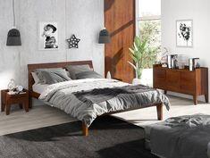 #łóżko #sosnowełóżko #sosnowemeble #łóżkososnowe #lozkososnowe #meble #sypialnia #mebledosypialni #drewno #drewnianemeble #polskiproducent #polskiemeble #nowoczesnemebledrewniane #skandynawskistyl Drawer Fronts, Walnut Finish, Floor Space, Solid Pine, Wooden Handles, Chest Of Drawers, Bed Frame, Teak, Shelves