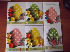 kartki kartka ręcznie wykonana quilling Wielkanoc (5190940181) - Allegro.pl - Więcej niż aukcje.