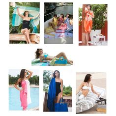 """""""Luxury Beach Towels collection by scentsandfeel.com"""" by beach-fouta-towels on Polyvore"""