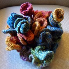 Enjoy some fun with fiber art crochet! Gallery of Freeform Crochet by Prudence Mapstone Check out the Crochet Art of Joana Vasconcelos . Check out photos of a variety of Crochet Sculptures . Check …