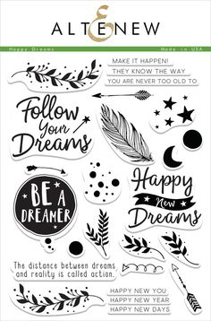 Not only can you use this set for New Year cards, but you can also get creative and use it for any themes like graduation, encouragement, congratulations, or just because with mix-and-match sentiment