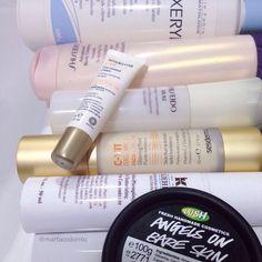 Buenos días! Hoy vamos con productos de cuidado facial y corporal matutino  En Snapchat: martacodorniu tenéis el maquillaje  #bblog #bblogger #beauty #beautyblog #beautyblogger #vsco #vscocam #lush #lushlover #lushyonki #lushaddict #angelsonbareskin #sesderma #cvit #vitaminaC #kiehls #estoesmuykiehls #hydropumping #shiseido #advancedbodycreator #dexeryl