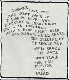 Bob Marley ~ Is This Love