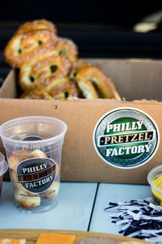 Philly Pretzel Factory in Dallas on Lovers Lane Kansas State Football, Football Food, Tailgate Food, Tailgating, Football Brownies, Pretzel Factory, Lovers Lane, Veggie Tray