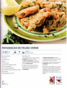 150 receitas - As melhores de 2012 My Kitchen Rules, Tasty, Yummy Food, Vegetable Recipes, Easy Meals, Food And Drink, Healthy Recipes, Dinner, Vegetables