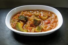 Stewed Zucchini, Peppers and Tomatoes