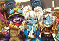 Cosplaying Yordles by Nestkeeper