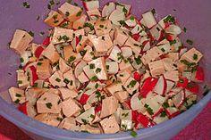 Radieschen-Wurst-Salat