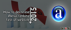One of the major objectives of bloggers is to achieve an improved Alexa ranking for their websites and blogs