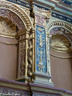 A Pilaster from the Chateau de Blois. June 2014. A. Tyner Antiques