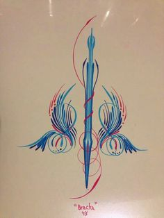 B Pinstriping, Home Decor, Art, Comic Strips, Art Background, Decoration Home, Room Decor, Kunst, Performing Arts