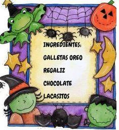 A   ESCOLA   DE   BARCIELA: ARAÑAS NO SAMAÍN Diy School, Peanuts Comics, Halloween, Art, School, Oreo Cookies, Art Background, Kunst, Performing Arts