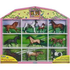Breyer Stablemates Horse Lover's Collection Shadow Box - Walmart.com