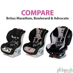We get asked about the difference between these britaxus car seats