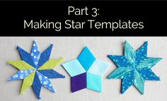 My video on making your own EPP templates for star shapes, using Google Drive's free drawing tool