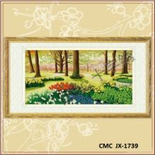 Gallery.ru / Все альбомы пользователя denise10 Cross Stitch Landscape, Cross Stitch Patterns, Frame, Home Decor, Christmas, Cross Stitch Embroidery, Ideas, Scenery, Dots