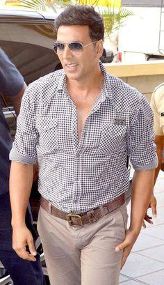 Akshay Kumar at an event organised by Mumbai Police.