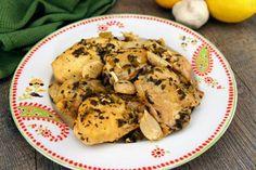 20 Clove Garlic Chicken