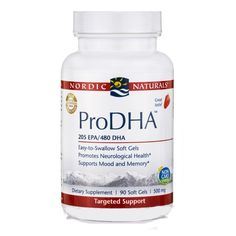ProDHA 90 Soft Gels 500 mg Strawberry Flavor