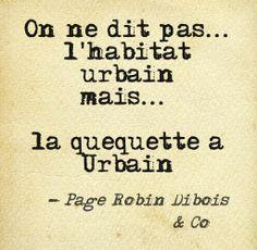 L'habitat urbain