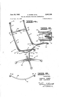 Chair Design Patent Best Stadium Chairs 98 Icon Images Modern Furniture Carpentry Eames Aluminum Group Original United States Office Page Ads Vintage