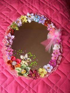 Garotas Criativas: Espelhos decorados
