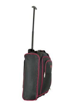 Buy Go Explore Small 2 Wheel Suitcase - Black at Argos.co.uk ...