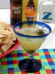 Our recipe for a Mexican Martini using Paula's Texas Orange.