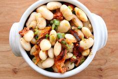 Roasted Tomato Gigante Bean Salad