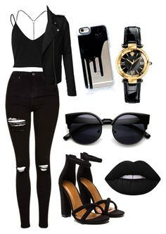 Designer Clothes, Shoes & Bags for Women Cute Emo Outfits, Bad Girl Outfits, Teenage Outfits, Edgy Outfits, Outfits For Teens, Girls Fashion Clothes, Teen Fashion Outfits, Look Fashion, Jugend Mode Outfits