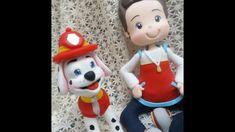 DIY- Fran aulas - ryder - patrulha canina - biscuit
