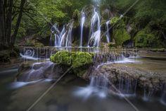 View of La Cascade des Tufs, France, Europe - Fototapeter & Tapeter - Photowall