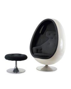 Henrik Thor Larsen, Ovalia Easy Chair, 1968. Sweden. Featured.