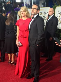 Steve Carrel at the 72nd Annual Golden Globe Red Carpet