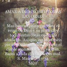 Mateo 6:33-34