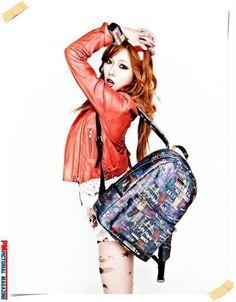 Kpop star 4miute Hyuna