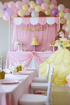 Belle Beauty And The Beast Birthday Party Ideas