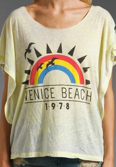REBEL YELL Venice Beach in Spring Bud at Revolve Clothing - Free Shipping!