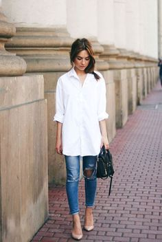 356c97351b Every closet must have a simple white shirt right  Well