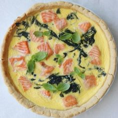 Fish Recipes, Vegetable Pizza, Quiche, Brunch, Dinner, Vegetables, Breakfast, Food, Drinks