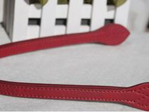 A pair of 60cm PU Leather Bag Handle Red